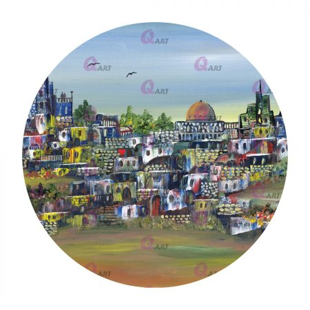 תמונת-עץ-עגולה-ירושלים-בתכלת-300