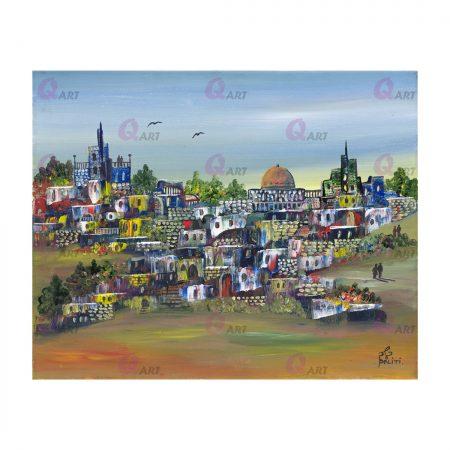 תמונת-קאנבס-40-על-50-ירושלים-בתכלת---332